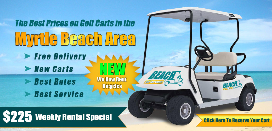 Myrtle Beach Golf Cart Rentals